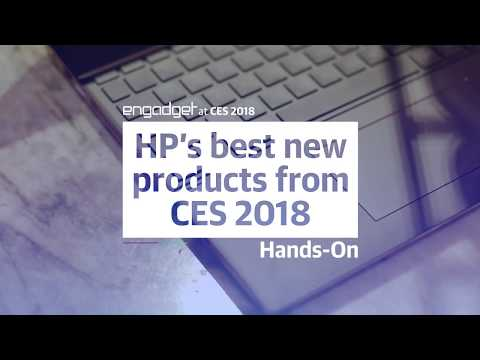 HP's Best Cool-Product in CES 2018.