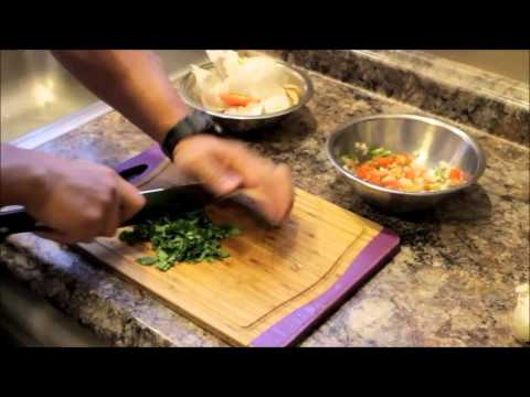 Basic Knife Skills - How to Mince Cilantro
