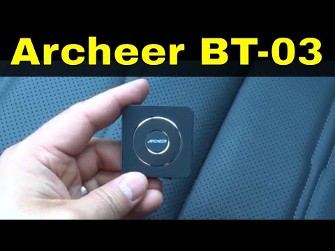 Archeer Bluetooth Transmitter And Receiver Review (BT-03)