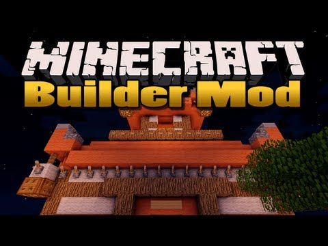 Minecraft: Builder Mod | (Build massive structures in seconds!)