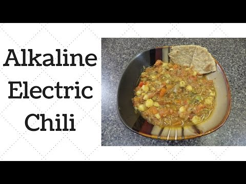 Chili Dr.Sebi Alkaline Electric Recipe