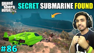I STOLE UNDERWATER CAR TO FIND SUBMARINE | GTA V GAMEPLAY #86