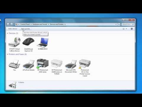 How to Install a Wireless Printer to a Toshiba Laptop : Tech Vice