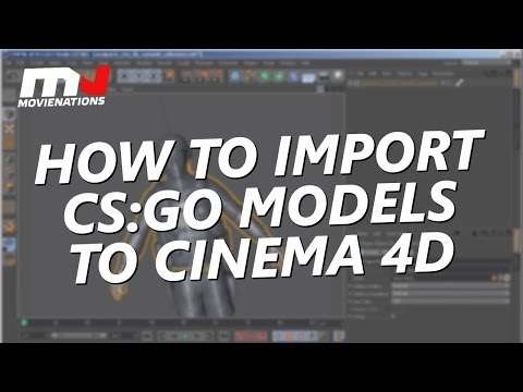 How to import CS:GO models to Cinema 4D