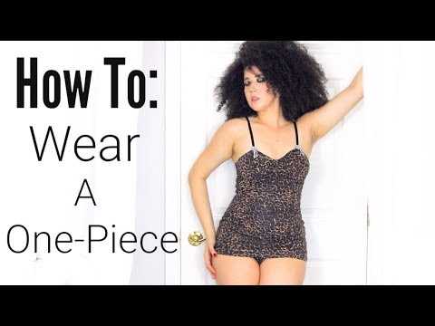 How To Be Sexy One Piece Vintage Swimsuit Dress   Flattering Retro Bathing Suit   New Swimwear 2018