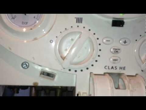Strange behavior of Ariston Class HE pressure gauge
