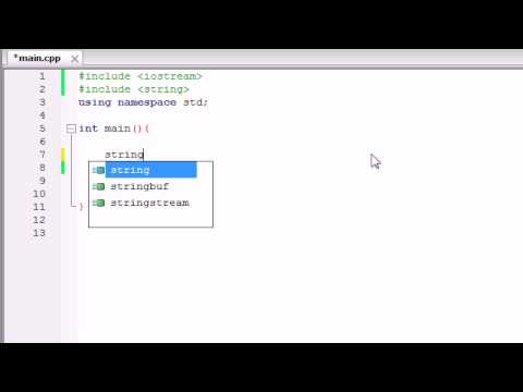 C++ Programming Tutorial - 14 - string Class