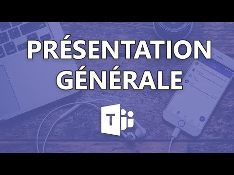 Teams mobile - Présentation générale