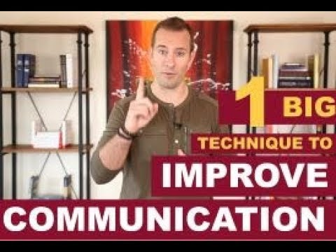 1 BIG Technique to Improve Your Communication Skills | Dating Advice For Women By Mat Boggs