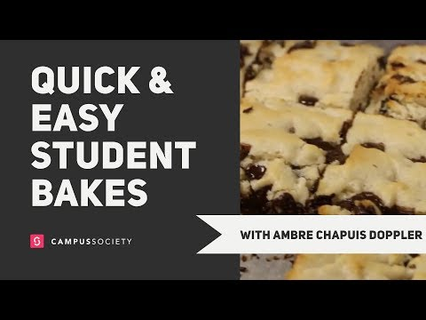3 Quick & Easy Student Recipes: Sweet Edition | Ambre