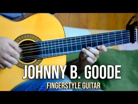 Johnny B. Goode - Fingerstyle Guitar (Marcos Kaiser) #98