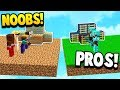 TWO PRO'S VS NOOBS! - Minecraft BEDWARS with PrestonPlayz