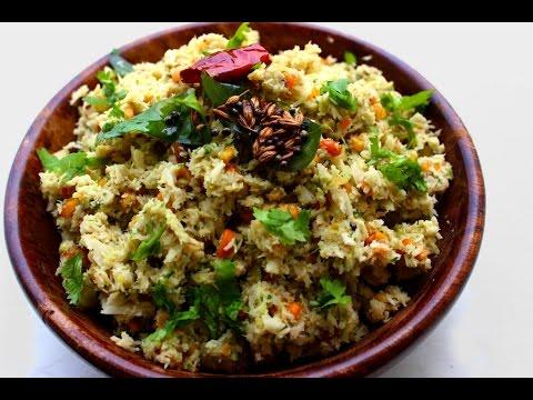 Coconut chutney for rice-Kobbari pachadi