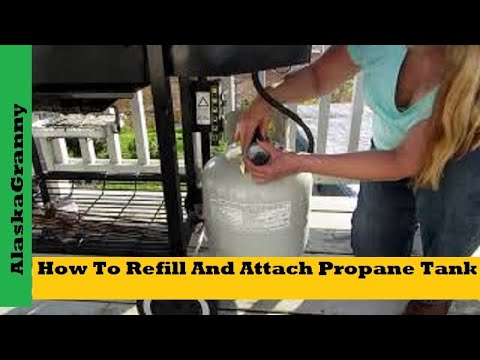 How To Refill And Attach Your Propane Tank