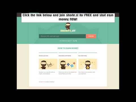 Earn Money  Using Facebook With The New Short-Links Site 2014 [Short Link Earn Money]