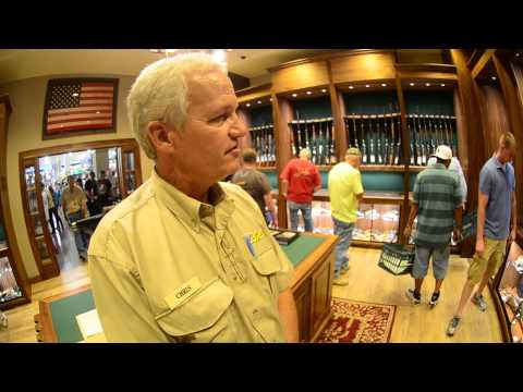 Buying a Gun at Cabela's is Easy and Comfortable...Cabela's Grand Opening Lone Tree Denver