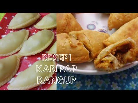 Resepi & Cara Buat Karipap Rangup (Suryizha)