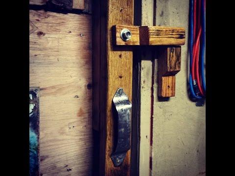 Rustic Door Latch and Handle