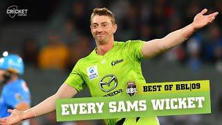 All of BKT Golden Arm Daniel Sams' wickets   KFC BBL 09