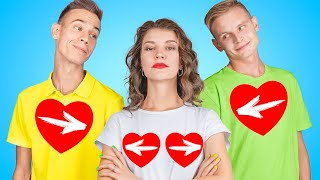 Dating Two Boys! Funny Situations