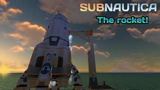 The ROCKET! | Subnautica Rocket revealed!