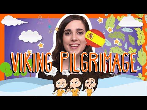 Spanish VIKING PILGRIMAGE Words with Rosa!