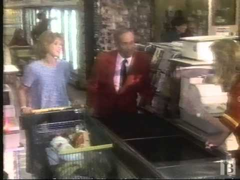 A&P Grocery Store Commercial 1987