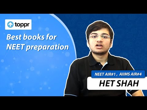 Important books for NEET preparation - NEET AIR 1 2016