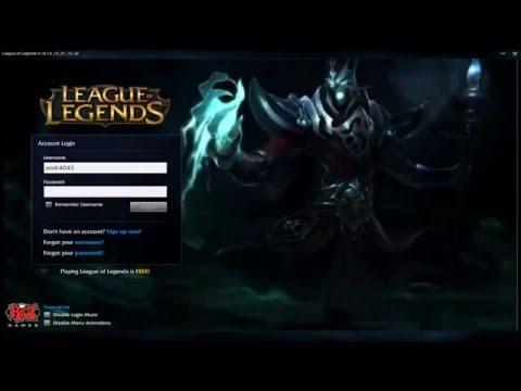 Karthus - Custom Login Screen League of Legends