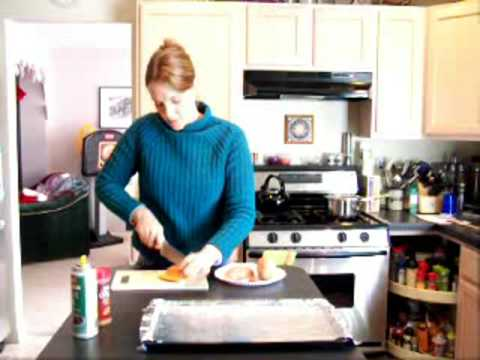 Cutting Sweet Potato Fries
