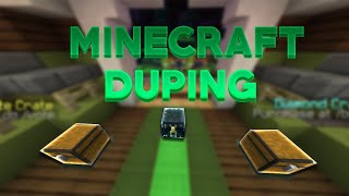 MINECRAFT NEW DUPING SERVER DUPIN GOD APPLES, GKITS