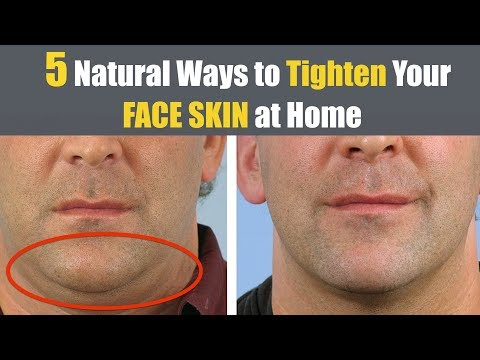 How to tighten face skin naturally for Men and Women | SIMPLE HOME REMEDIES