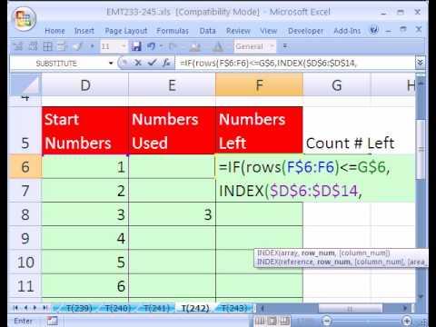 Excel Magic Trick #242: Excel Sudoku Puzzle