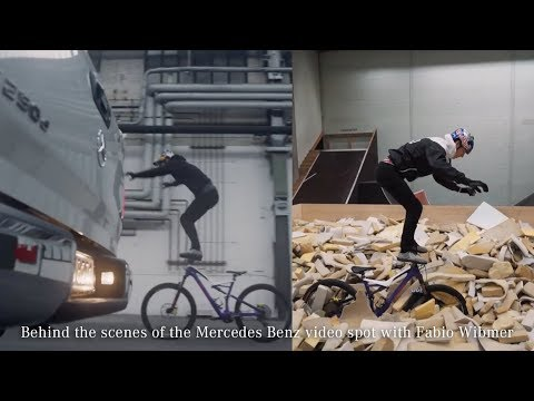 Behind the scenes of the Mercedes Benz | X-Class video spot with Fabio Wibmer - Sick Series