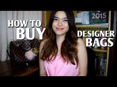 HOW TO BUY DESIGNER BAGS IN THE PHILIPPINES PT. 1