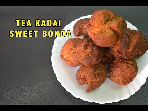 Tea kadi sweet  Bonda| டீ கடை போண்டா செய்வது எப்படி ? |holiday evening special | Kids Recipe