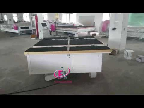360 degree freely moving automatic glass loading machine