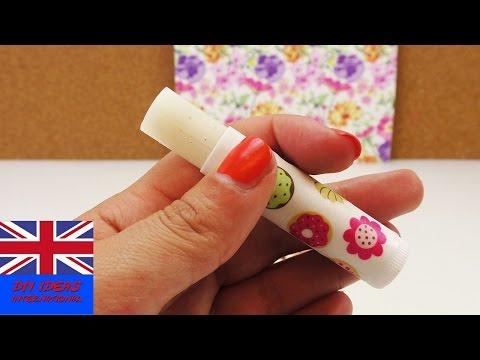 Recipe: How to make a vanilla lip balm - DIY Tutorial