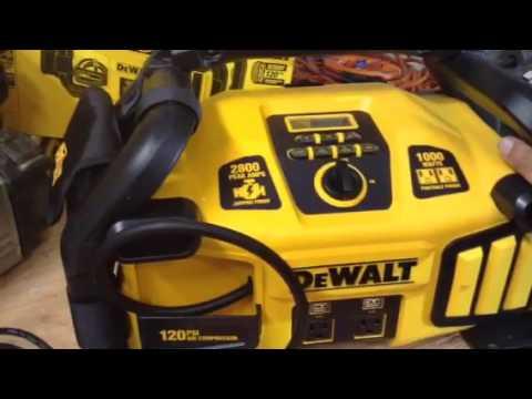 Dewalt DXAEPS2 12v jumper box power station inverter air compressor