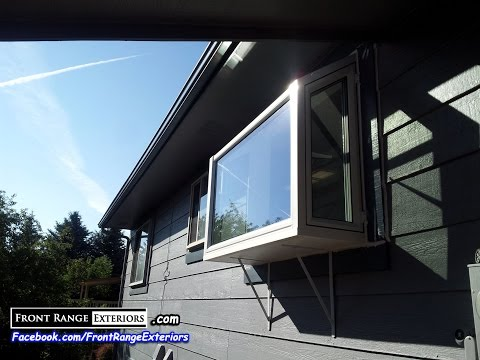 Colorado Springs Replacement Windows Bay Window Garden Box - Front Range Exteriors