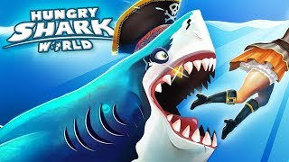 The Haunted Galleon!!! - Hungry Shark World   Ep 46 HD