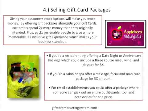 Top Five Ways to Increase Your Gift Card Sales In Store