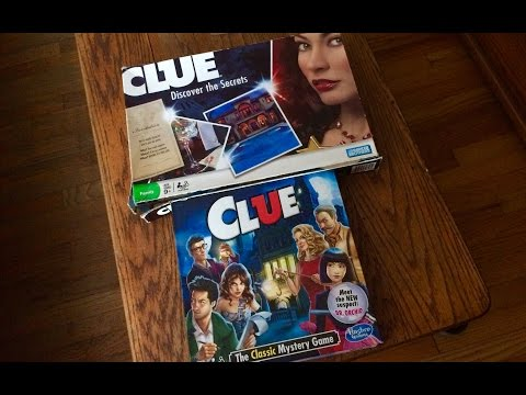 Clue 2011 Or Clue 2016 Board game