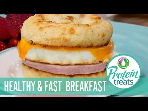 Microwave English Muffin Recipe - Protein Treats by Nutracelle