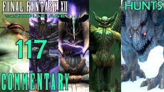 Final Fantasy XII The Zodiac Age Walkthrough Part 117 - Fafnir Hunt 31 + Some Esper Ultimate Moves