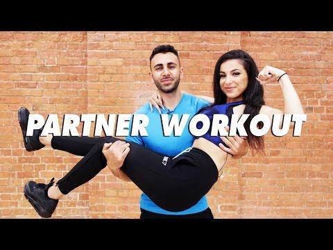 FULL BODY TONING PARTNER WORKOUT | Leyla Rose + Josh Yianni