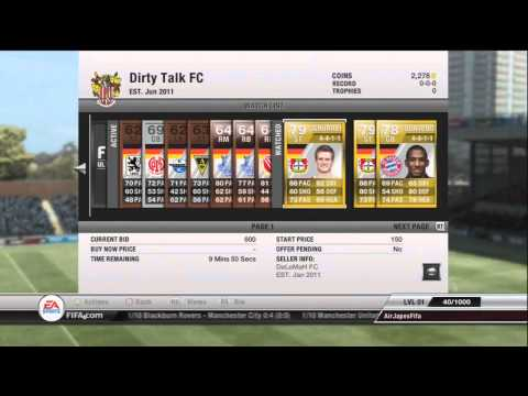 FIFA 12 Road To Glory Ep.1 - Ultimate Team - with AirJapesFifa