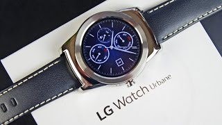 LG Watch Urbane: Unboxing & Review