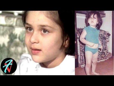 Childhood Photos and Video of Kareena Kapoor