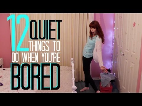 12 Quiet Things To Do When You're Bored